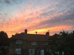 Fire in the Sky (Traveller'sLens) Tags: britain unitedkingdom england europe londres londonas londyyn londyn london stunning gorgeous amazing pretty beautiful nature sky sunset