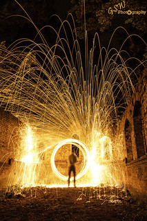 Explosion of Sparks