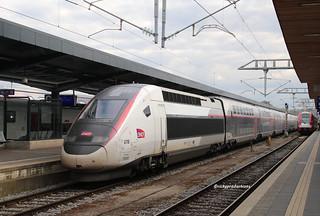 SNCF-TGV 4716 en gare de Luxembourg-ville