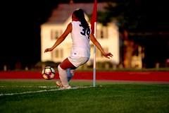 Corner kick (stephencharlesjames) Tags: soccer football womens sport college sports ball action ncaa corner kick middlebury vermont