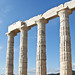 Temple of Poseidon, Sounion 440 BC 3/11/09 #greek #architecture