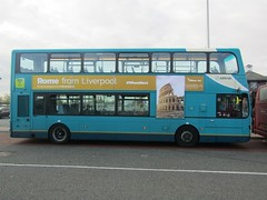 z Advert Blue Air (1280x960) (dearingbuspix) Tags: arriva arrivanorthwest mx61axg 4466