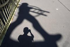 Shadow selfie... (@AmirsCamera) Tags: vienna austria shadow selfie streetphotography street portrait self light walking walkby travel holiday olympus omdem1 omd em1 colour color city urban design fun