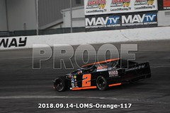 LOMS-Orange-117 (PacificFreelanceMotorsports) Tags: loms speedway racing modifieds lucasoil