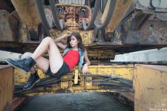 TOM02122 (HwaCheng Wang 王華政) Tags: 蘇 托托 人像 外拍 md model portraiture sony a9 ilce9 35za 2470gm 70200gm 廢墟 ruin