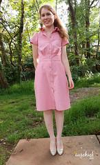 Itch to Stitch Chai Dress (aus_chick) Tags: sewing diy dress women itchtostitch chambray chaidress chai shirtdress