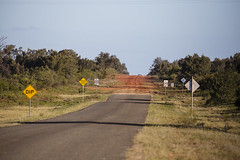 The Road South (oz_lightning) Tags: australia canon6d canonef100400mmf4556lisiiusm fordsbridge nsw landscape nature outback road rural sign newsouthwales aus