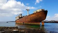 Ship Wreck - Lanzarote - 2018-09-15 (BillyGoat75) Tags: thetelamon shipwreck water playadebarlovento losmarmoles lanzarote thecanaryislands spain
