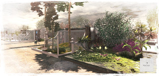 Commission: Design, Landscape and Build (Blueprint home & garden event space)