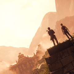 Side by Side (Scarlizz) Tags: playstation4 ps4 uncharted4athiefsend screenshot