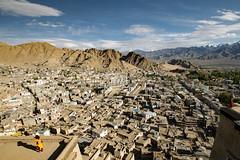 leh from above (DeCo2912) Tags: leh ladakh jammu kashmir india himalaya