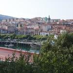La ville, Bermeo, comarque de Busturialdea, Biscaye, Pays basque, Espagne. thumbnail