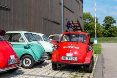 BMW Isetta Meeting (karlheinz klingbeil) Tags: vintagecar südbaden car bmw badenwürttemberg isetta schwarzwald auto meeting classiccar gutachimbreisgau deutschland de feuerwehr fire department