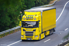 Scania R500 NG Highline / Bottero (I) (almostkenny) Tags: lkw truck camion ciężarówka scania i it italia italy r500ng highline hp500 nextgen fm866rk bottero