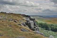 Stanage Edge Rocks (Bri_J) Tags: stanageedge peakdistrict nationalpark hathersage derbyshire uk countryside nikon d7200 hdr rocks hill clouds sky