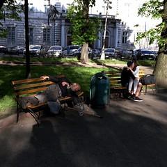 Pretty love (kitowras) Tags: people iphonephoto iphonese ukraine lviv color street