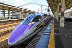 JR West - San'yō Shinkansen 500 series ( 500 Type EVA ) (Ken Ngan) Tags: 山陽新幹線 500系 jr西日本 sanyōshinkansen 500series jrwest