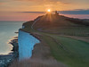 The Belle Tout Lighthouse (lloydlane) Tags: august summer lighthouse sunset sussex coast chalk sevensisters