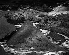 Untitled (BrianMills) Tags: sea rocks lightshadow texture visuals artistic visual art blackwhite bw bnw light shadow creatives