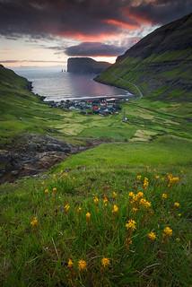 A village in Faroe Islands