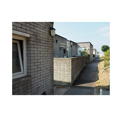low rise housing (chrisinplymouth) Tags: wall brick estate house plymstock plymouth devon england uk cw69x stamfordclose wb xg inexplore hooe