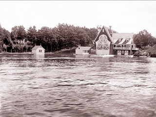 Yacht House, Thousand Islands -- about 1900