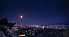 Full moon (solerab) Tags: augustfullmoon fullmoon korinthia corinthia night greece longexposure sony rx100 panoramic