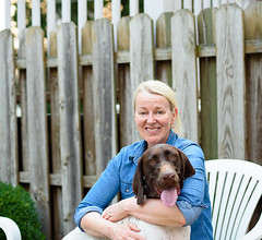 momma & me (jesus rva) Tags: german shorthaired pointer puppy puppies dog dogs fur ball nikon d750 dslr