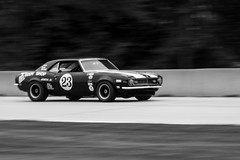 Camaro (William 74) Tags: chevrolet camaro transam blackandwhite bw blackwhite vintageracing vintage vintagecar roadamerica racingcar racing racingtrack racetrack speed
