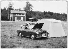 Camping 1965... (iEagle2) Tags: vw volkswagen volkswagen1500 vw1500 1962 camping