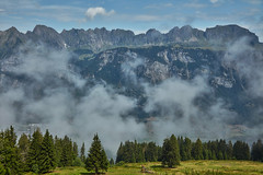 Switzerland – View from Saxli (Thomas Mülchi) Tags: flumskleinberg cantonofstgallen switzerland 2018 saxli churfirstenmountainrange churfirsten mountain mountains clouds flumserbergsaxli ch