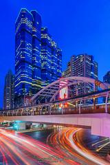 Chong Nonsri (LegendORC) Tags: sony a7m2 sel1635gm sonyalpha cityscape bangkok thailand city chongnonsri skyline lighttrail
