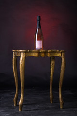 Champagne rosé ambiance rouge (sebastienloppin) Tags: champagne vin wine alcool red rouge table luxe luxury packshot produit photographe photographer photographie photography photooftheday snoot elinchrom canon tamron sp 90mm macro 6dmarkii