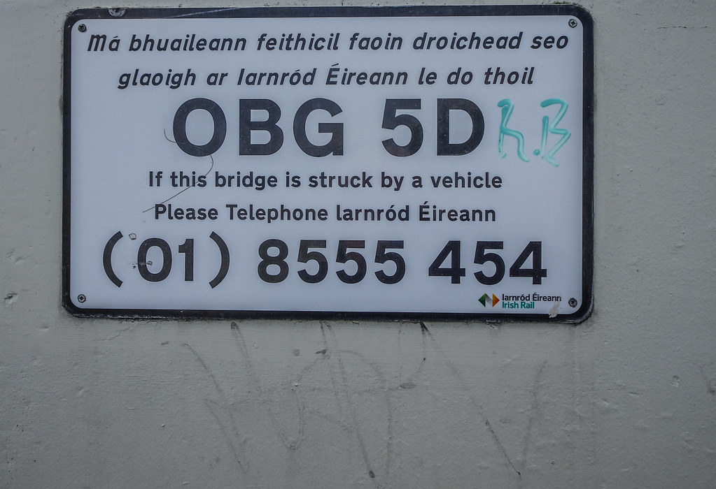 REILLY'S BRIDGE WAS REPLACED BY THE RATOATH ROAD OVERBRIDGE [IT IS A PITY THAT THEY DID NOT COME UP WITH A NAME FOR THE NEW BRIDGE]-143891