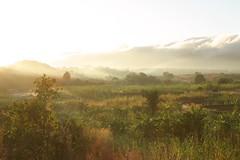 dawn over Inago massif