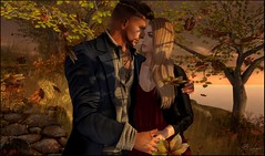 My Beyond (Broderick Logan) Tags: secondlife sl second life 2nd 2ndlife avi avatar digital art picture romance couple brodericklogan broderick logan enaroane ena roane fall autumn walk walking romantic love beyond