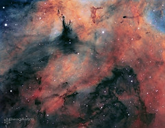 Inside the Butterfly nebula in HST palette (Sara Wager (www.swagastro.com)) Tags: astrophotography astronomy telescope space universe deepskydso science