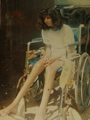 1960s Vintage Para Girl (jackcast2015) Tags: handicapped disabledwoman crippledwoman wheelchair paraplegic paraplegicwoman