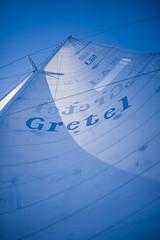 Gretel's Sail (Serendigity) Tags: whitsundayislands sail sailing australia gretel americascup 35mmslide yacht queensland au kodachrome 35mm slide film