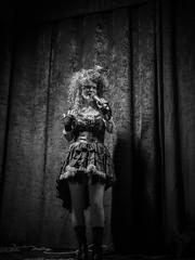 steampunk evening soiree - 1605 (liam.jon_d) Tags: mono arty australia australian avrilangel avrilangelclassyfied bw billdoyle blackandwhite chanteuse cosplay costume evening fancydress jazz mixedcreative mixedcreativeonnile monochrome nilestreet peopleimset performer pickmeset port portadelaide portrait portraitimset sa singer southaustralia southaustralian steampunk steampunkfestival steampunkeveningsoiree steampunksoiree theport