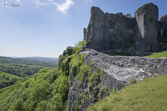 Carreg Cennen Castle (wandering tattler) Tags: castle stone carregcennen carregcennencastle wales historic antique antiquities monuments medieval 2016