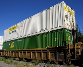 J.B. Hunt container