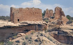 """Ruins of """"Hovenweep Castle"""" (Ron Wolf) Tags: anthropology archaeology hovenweepnationalmonument nationalpark nativeamerican puebloan architecture desert pueblo ruins stonework structure wall utah"""