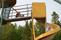 Kids At The Playground (Joe Shlabotnik) Tags: 2018 aroostook violet august2018 everett maine playground vanburen afsdxvrzoomnikkor18105mmf3556ged