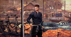 Mr. Brightside (RyanTailor (Taking Clients)) Tags: catwa belleza rkkn mancave equal10 clefdepeau volkstone doux nikotion outdoor fashion men man boy guy gay homme summer ship fall autumn spring