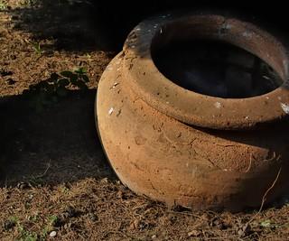 Ancient Roman pottery jug - Museo Nazionale Romano, Terme di Diocleziano, Rome