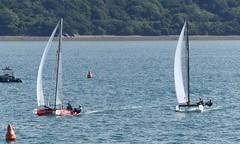 Finist'Air Sailing 2018 (EricFromPlab) Tags: bretagne finistère brest breizh brittany kitefoil windfoil windsurf kitesurf cata foil flying phantom kite