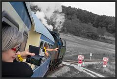 "Smartphone Steam ("" Wiener Schule "") Tags: öbb oebb obb austria ernstbrunn regiobahn nostalgiezug sonderzug steam train dampf dampfzug dampflok erlebniszug leiserberge eisenbahn railway railroad ögeg 78618"