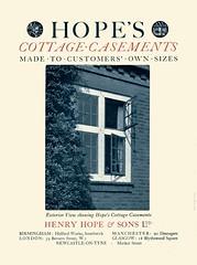 Cottage Casements. Henry Hope & Sons (sadiron16) Tags: henryhope windows metalwindows casements catalogue smethwick
