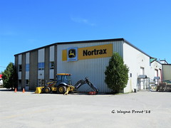 Nortrax - John Deere Dealership (Gerald (Wayne) Prout) Tags: nortraxjohndeere dealership nortrax johndeere highway101west mountjoytownship cityoftimmins northeasternontario northernontario ontario canada prout geraldwayneprout canon canonpowershotsx60hs powershot sx60 hs digital camera photographed photography building architecture business shop sales repairs parts lease equipment machines forestry construction attachments graders bulldozers backhoes loaders haulers trucks highway101 mountjoy township city timmins northeastern northern west